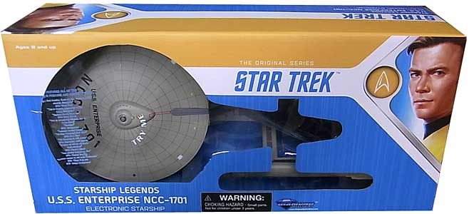 DIAMOND SELECT STAR TREK THE ORIGINAL SERIES STARSHIP LEGENDS U.S.S. ENTERPRISE NCC-1701 [DC17804]