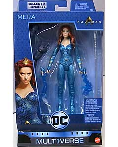 MATTEL DC COMICS MULTIVERSE 6インチアクションフィギュア 映画版 AQUAMAN MERA [TRENCH WARRIOR SERIES]