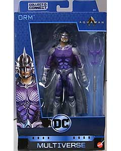 MATTEL DC COMICS MULTIVERSE 6インチアクションフィギュア 映画版 AQUAMAN ORM [TRENCH WARRIOR SERIES]