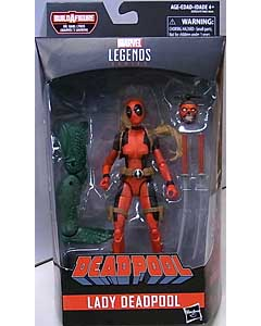 HASBRO MARVEL LEGENDS 2018 DEADPOOL SERIES 2.0 DEADPOOL LADY DEADPOOL [SAURON SERIES]