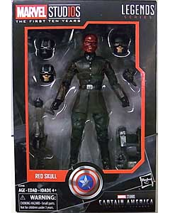HASBRO MARVEL STUDIOS: THE FIRST TEN YEARS 映画版 CAPTAIN AMERICA THE FIRST AVENGER RED SKULL パッケージ傷み特価