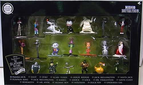 JADA TOYS NANO METALFIGS THE NIGHTMARE BEFORE CHRISTMAS 20PACK