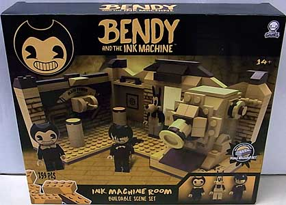 PHATMOJO BENDY AND THE INK MACHINE INK MACHINE ROOM BUILDABLE SCENE SET