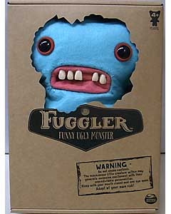 SPIN MASTER FUGGLER FUNNY UGLY MONSTER 9インチプラッシュドール GAPTOOTH McGOO [LIGHT BLUE]