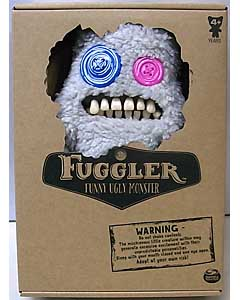 SPIN MASTER FUGGLER FUNNY UGLY MONSTER 9インチプラッシュドール SASQUOOSH [FUZZY GREY]