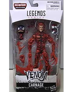 HASBRO MARVEL LEGENDS 2018 VENOM SERIES 1.0 CARNAGE [MONSTER VENOM SERIES]