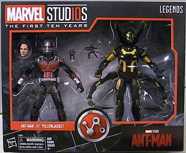 HASBRO MARVEL STUDIOS: THE FIRST TEN YEARS 映画版 ANT-MAN ANT-MAN & YELLOWJACKET 2PACK
