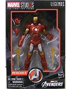 HASBRO MARVEL STUDIOS: THE FIRST TEN YEARS 映画版 AVENGERS IRON MAN MARK VII パッケージ傷み特価