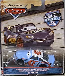 MATTEL CARS 2018 THOMASVILLE RACING LEGENDS シングル CAL WEATHERS