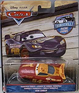 MATTEL CARS 2018 THOMASVILLE RACING LEGENDS シングル HERB CURBLER