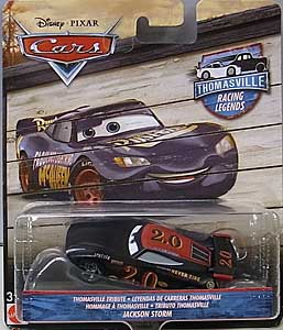 MATTEL CARS 2018 THOMASVILLE RACING LEGENDS シングル JACKSON STORM