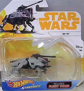 MATTEL HOT WHEELS STAR WARS DIE-CAST VEHICLE 2018 AT-TE