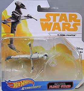 MATTEL HOT WHEELS STAR WARS DIE-CAST VEHICLE 2018 B-WING FIGHTER 台紙傷み特価