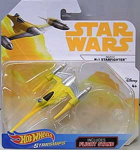 MATTEL HOT WHEELS STAR WARS DIE-CAST VEHICLE 2018 NABOO N-1 STARFIGHTER