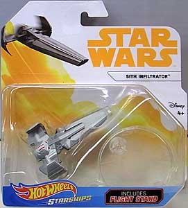 MATTEL HOT WHEELS STAR WARS DIE-CAST VEHICLE 2018 SITH INFILTRATOR