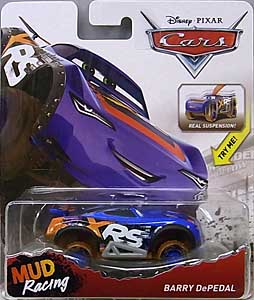 MATTEL CARS 2018 XTREME RACING SERIES MUD RACING シングル BARRY DEPEDAL