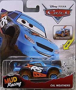 MATTEL CARS 2018 XTREME RACING SERIES MUD RACING シングル CAL WEATHERS