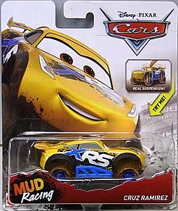 MATTEL CARS 2018 XTREME RACING SERIES MUD RACING シングル CRUZ RAMIREZ