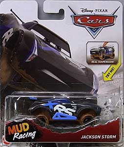 MATTEL CARS 2018 XTREME RACING SERIES MUD RACING シングル JACKSON STORM