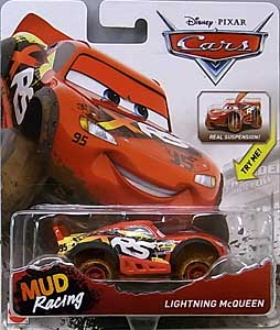 MATTEL CARS 2018 XTREME RACING SERIES MUD RACING シングル LIGHTNING McQUEEN 台紙傷み特価