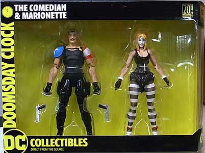 DC COLLECTIBLES DOOMSDAY CLOCK COMEDIAN & MARIONETTE