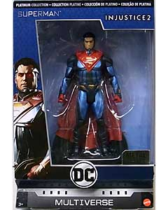 MATTEL DC COMICS MULTIVERSE 6インチアクションフィギュア PLATINUM COLLECTION INJUSTICE 2 SUPERMAN