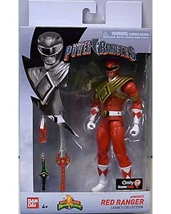 USA BANDAI POWER RANGERS LEGACY COLLECTION 6インチアクションフィギュア MIGHTY MORPHIN ARMORED RED RANGER