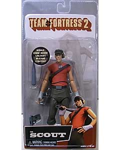 NECA TEAM FORTRESS 2 7インチアクションフィギュア シリーズ4 RED THE SCOUT