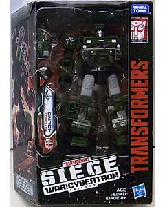 HASBRO TRANSFORMERS SIEGE DELUXE CLASS AUTOBOT HOUND