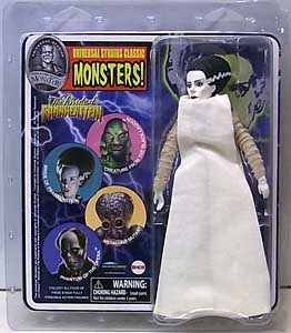 DIAMOND SELECT UNIVERSAL MONSTERS RETRO CLOTH ACTION FIGURE THE BRIDE OF FRANKENSTEIN BRIDE