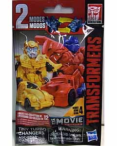 HASBRO TRANSFORMERS TINY TURBO CHANGERS SERIES 4 MOVIE EDITION 1PACK