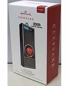 HALLMARK CHRISTMAS ORNAMENTS 2018 2001: A SPACE ODYSSEY 50TH ANNIVERSARY HAL 9000