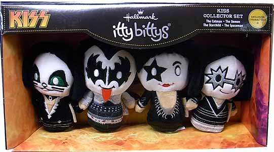 HALLMARK ITTY BITTYS KISS COLLECTOR SET