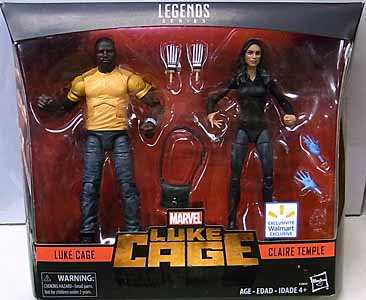 HASBRO MARVEL LEGENDS 2018 2PACK LUKE CAGE LUKE CAGE & CLAIRE TEMPLE