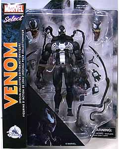 DIAMOND SELECT MARVEL SELECT USAディズニーストア限定 VENOM SPECIAL COLLECTOR EDITION ACTION FIGURE パッケージ傷み特価