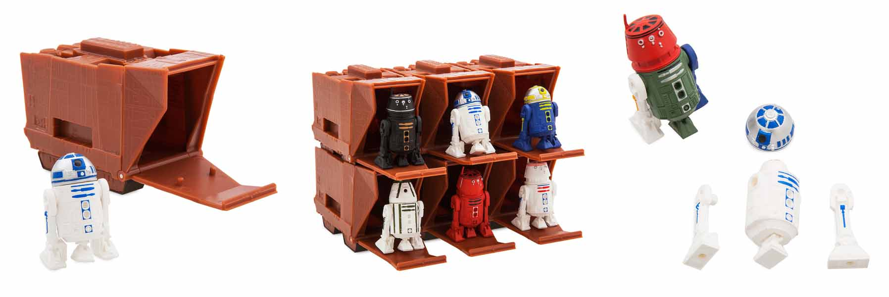 STAR WARS USAディズニーストア限定 MINI DROID COLLECTIBLE FIGURE 1PACK