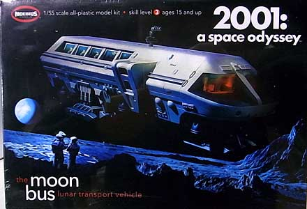 メビウスモデル 1/55スケール 2001年宇宙の旅 ムーンバス 組み立て式プラモデル パッケージ傷み特価
