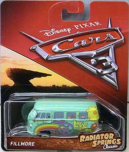 MATTEL CARS 3 シングル FILLMORE [RADIATOR SPRINGS CLASSIC]