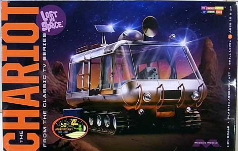 MOEBIUS MODELS 1/24スケール 宇宙家族ロビンソン シャリオット 探検車 組み立て式プラモデル
