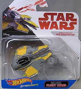 MATTEL HOT WHEELS STAR WARS DIE-CAST VEHICLE ANAKIN SKYWALKER'S JEDI STARFIGHTER