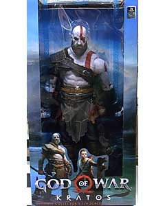 NECA PLAYER SELECT GOD OF WAR 2018 1/4スケール アクションフィギュア KRATOS パッケージ傷み特価