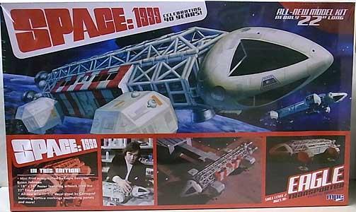 MPC 1/48スケール スペース1999 イーグル・トランスポーター 組み立て式プラモデル スペシャルエディション