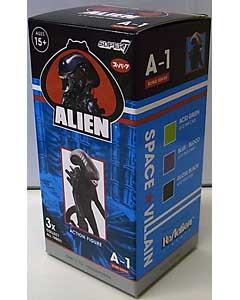 SUPER 7 REACTION FIGURES 3.75インチアクションフィギュア ALIEN BLIND BOX WAVE 1 XENOMORPH