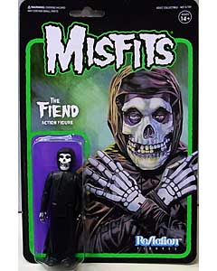 SUPER 7 REACTION FIGURES 3.75インチアクションフィギュア MISFITS THE FIEND [MIDNIGHT BLACK]