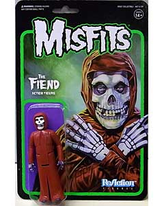 SUPER 7 REACTION FIGURES 3.75インチアクションフィギュア MISFITS THE FIEND [CRIMSON RED]
