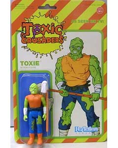 SUPER 7 REACTION FIGURES 3.75インチアクションフィギュア THE TOXIC AVENGER [TOXIC CRUSADER VARIANT]