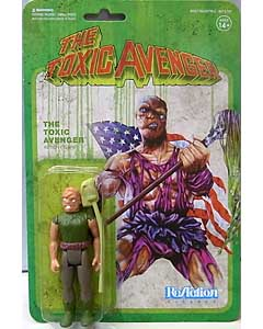 SUPER 7 REACTION FIGURES 3.75インチアクションフィギュア THE TOXIC AVENGER [AUTHENTIC MOVIE VARIANT]