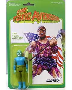 SUPER 7 REACTION FIGURES 3.75インチアクションフィギュア THE TOXIC AVENGER [MOVIE VARIANT]