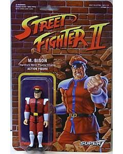 SUPER 7 REACTION FIGURES 3.75インチアクションフィギュア STREET FIGHTER II M. BISON
