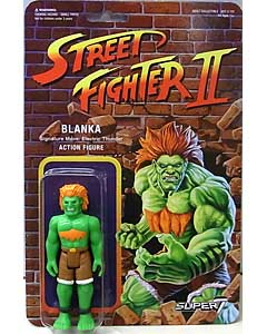 SUPER 7 REACTION FIGURES 3.75インチアクションフィギュア STREET FIGHTER II BLANKA